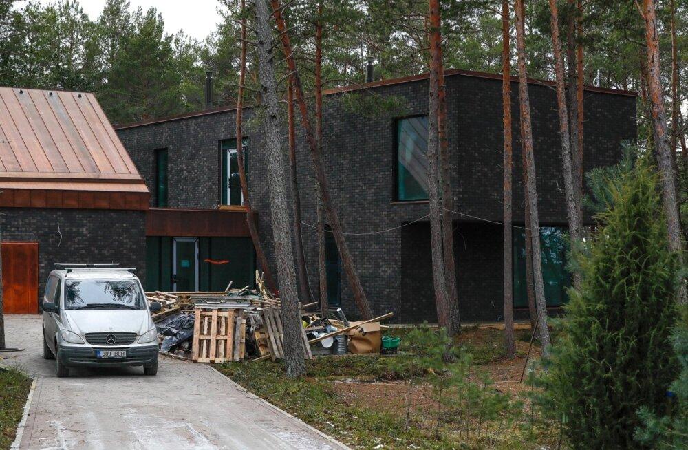 Rein Kilgi uus maja Laulasmaal