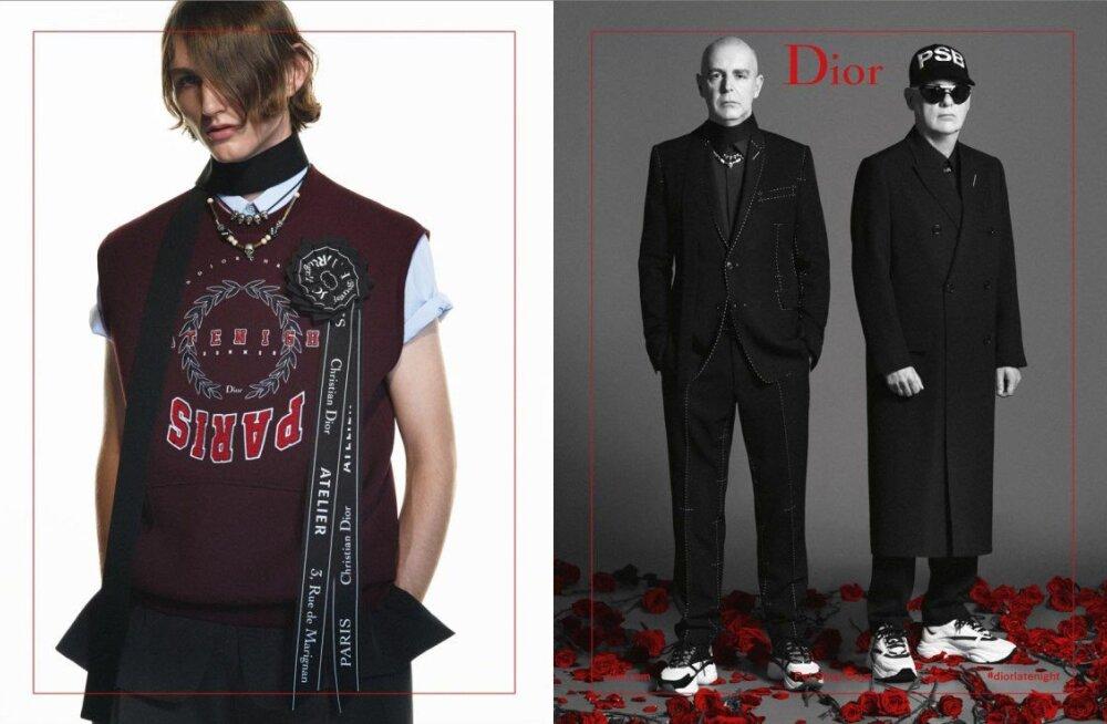 VIDEO   Dior Homme uueks reklaamnäoks on varsti Eestis esinev Pet Shop Boys