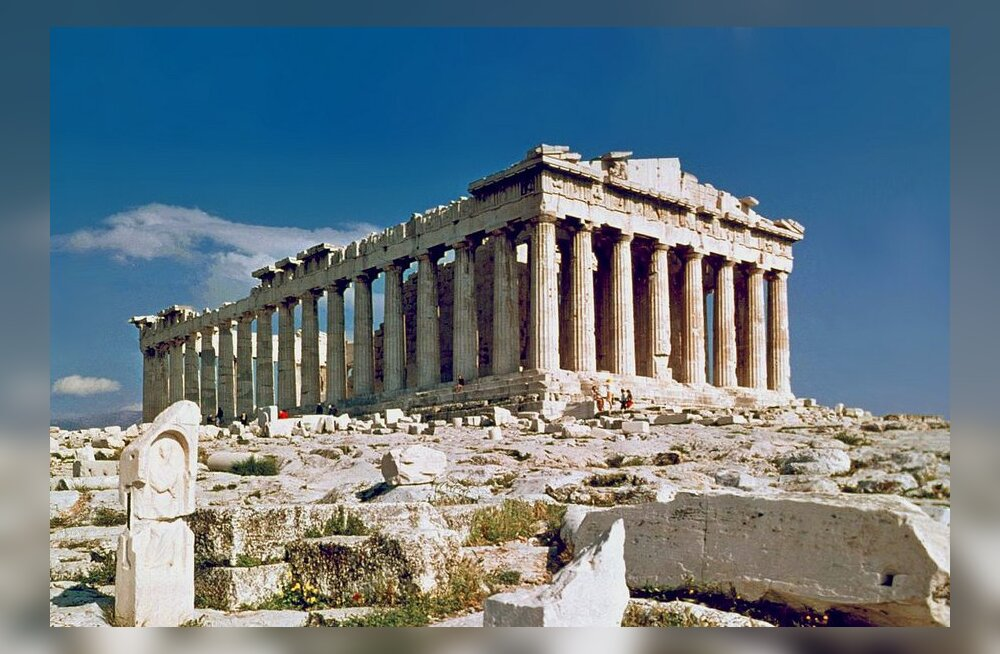 Täna ajaloos: Ateena Parthenon lendas õhku