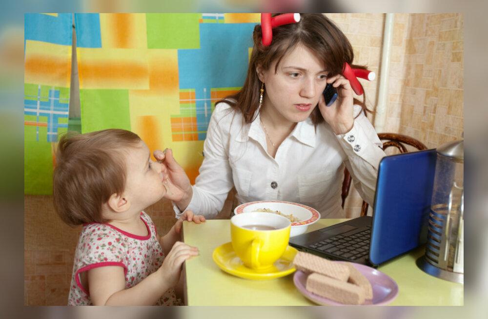 Lapsevanemad, tähelepanu! Kas ka teie peres teeb nutitelefon lapse paksuks?