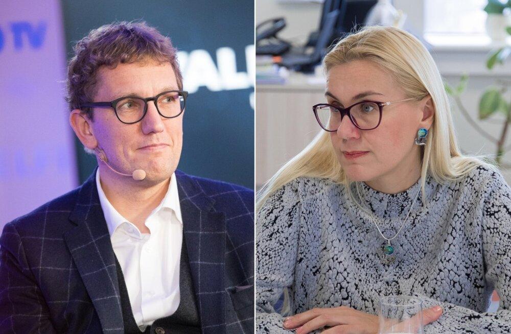 Kristen Michal ja Kadri Simson