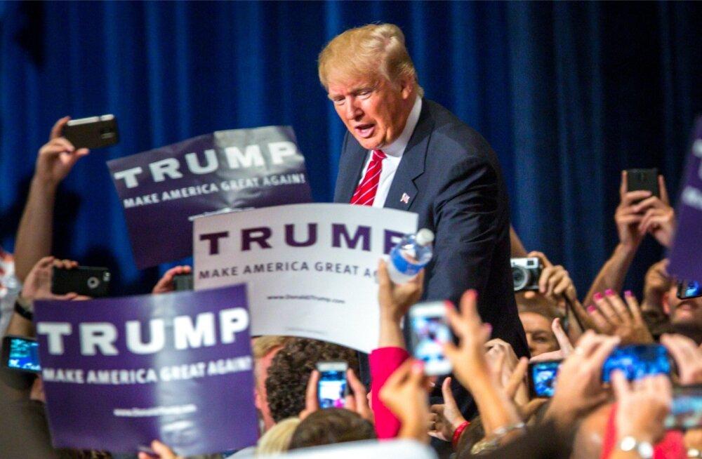 On sel tegelasel tõesti tõsi taga? Kas Trump võiks päriselt võita?