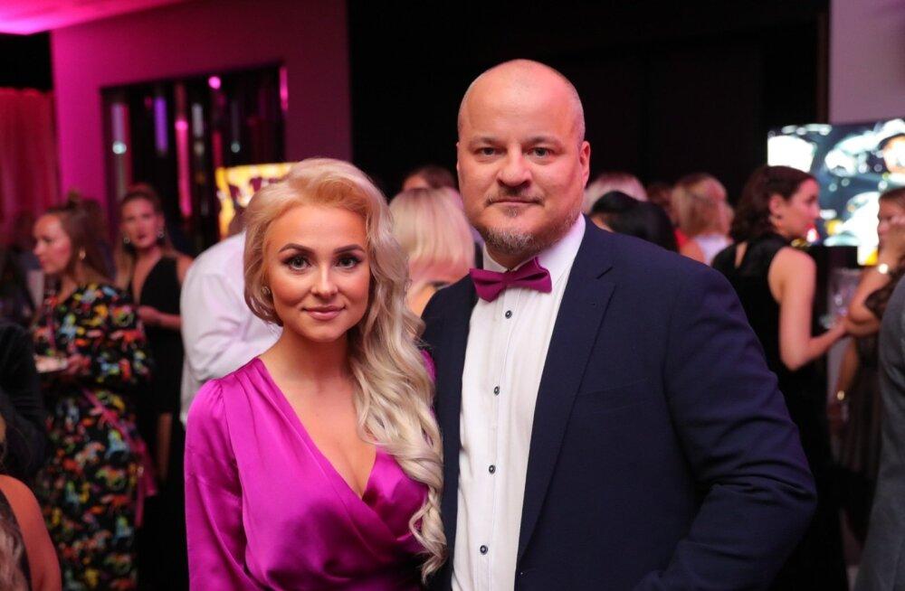 Õhtu kuningas ja kuninganna! Armunud Grete Klein ja Ergo Kuld särasid TV3 sügispeo kauneima paarina