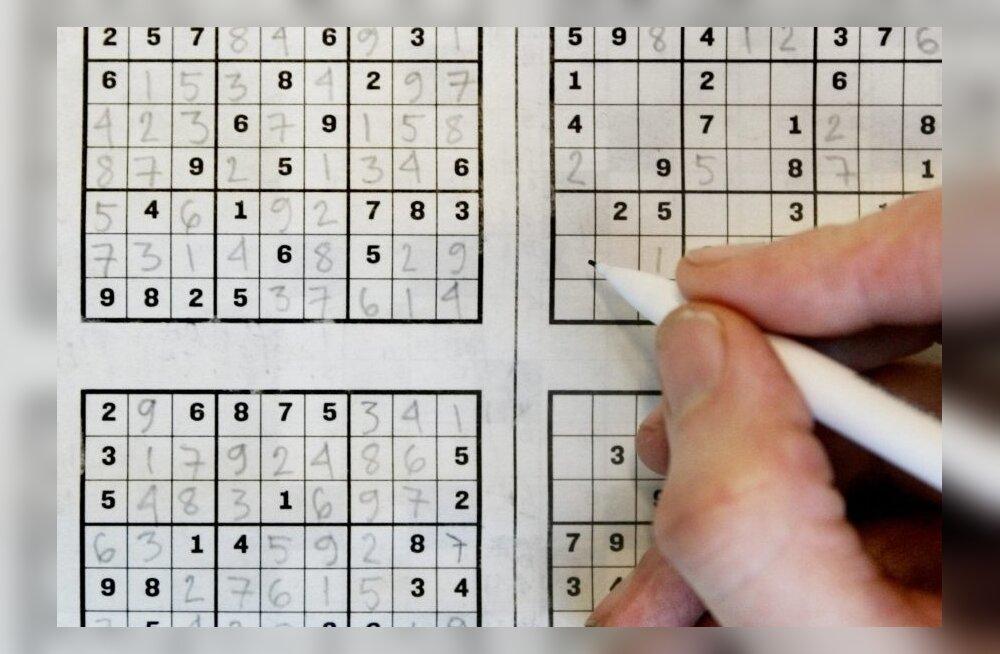 Sudoku vajab vähemalt 17 lähtenumbrit