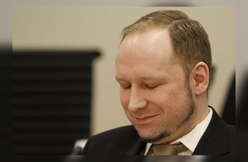 Prokuröri jutt ajas Breivikile naeru peale