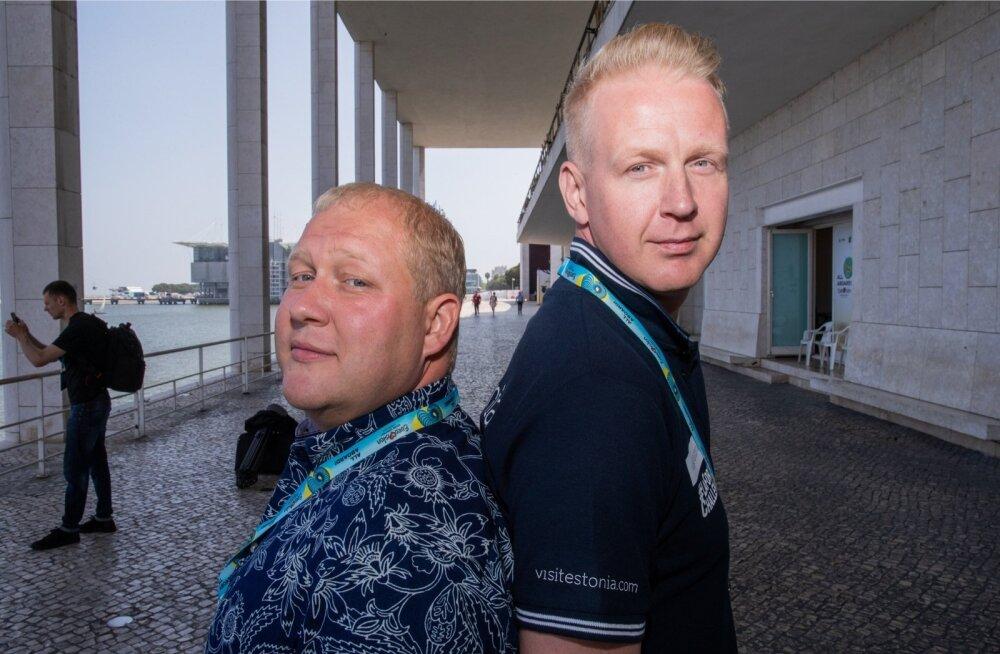 Mihkel Mattisen (paremal) ja Timo Vendt panid seljad kokku ja kirjutasid Elina Nechayevale suurepärase laulu.