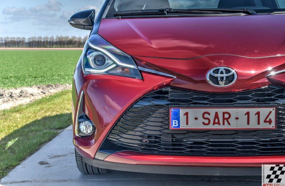 Uuenenud Toyota Yaris: nunnumõõtu masinal on rallisõitja hing (ja katamaraani nina)