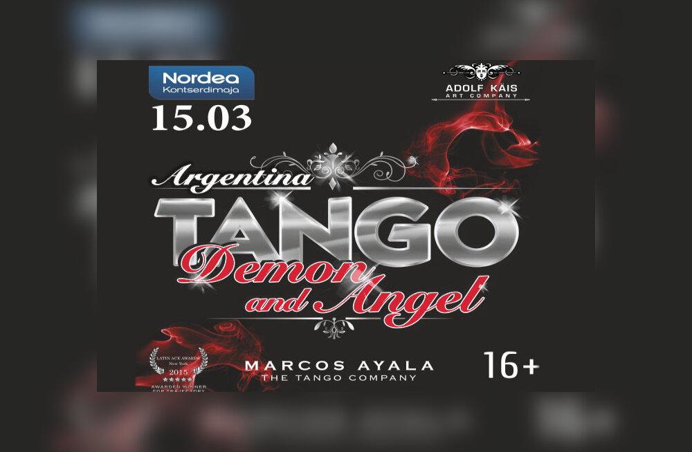 Один из лучших танцоров танго Маркос Аяла выступит в Таллинне со своим новым шоу