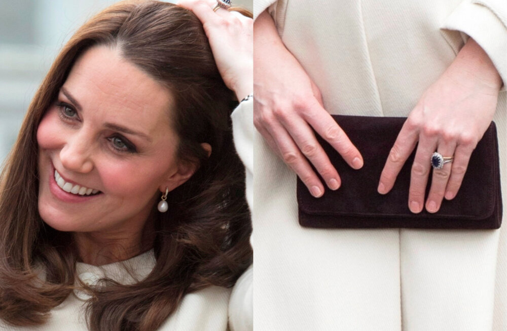 FOTOD | Vaata Cambridge'i hertsoginna Catherine'i sõrmi! Kas märkad midagi ebatavalist?