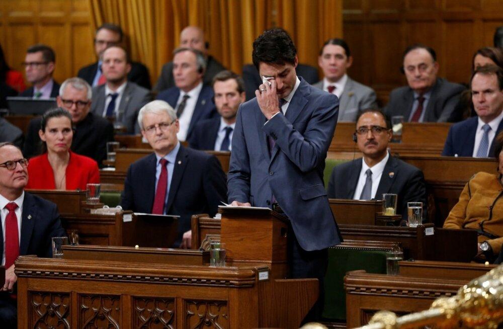 VIDEO | Kanada peaminister Trudeau vabandas pisarsilmi tagakiusatud geikogukonna ees