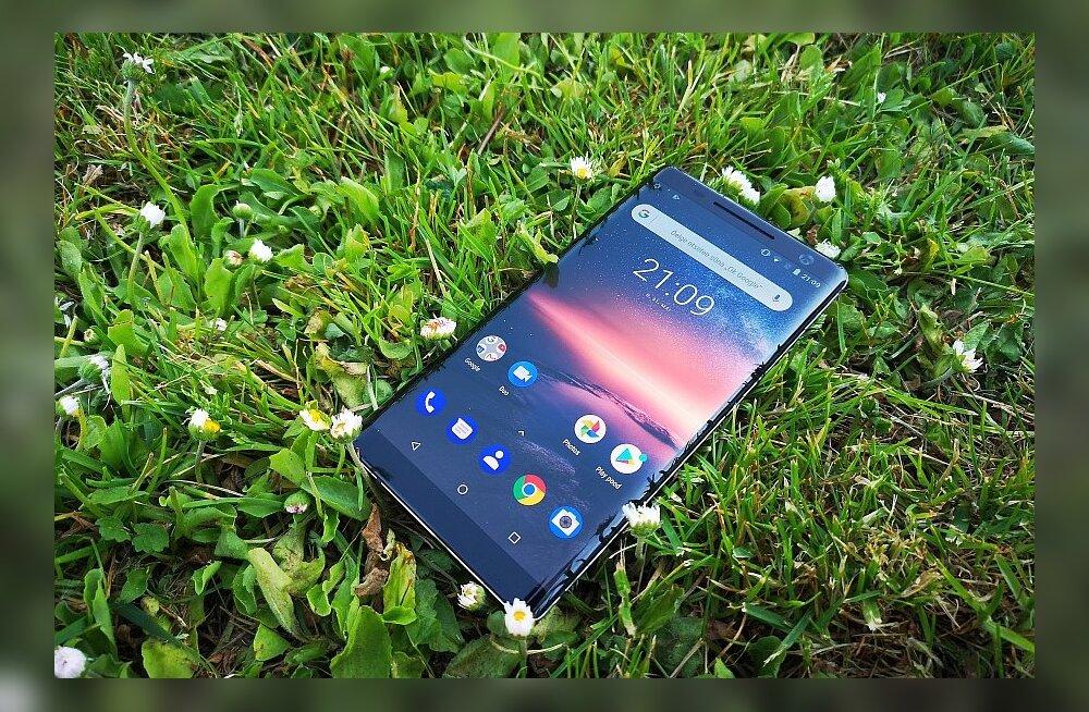 TEST | Nokia 8 Sirocco – šikk nutitelefon, kuigi vahel liiga spontaanne