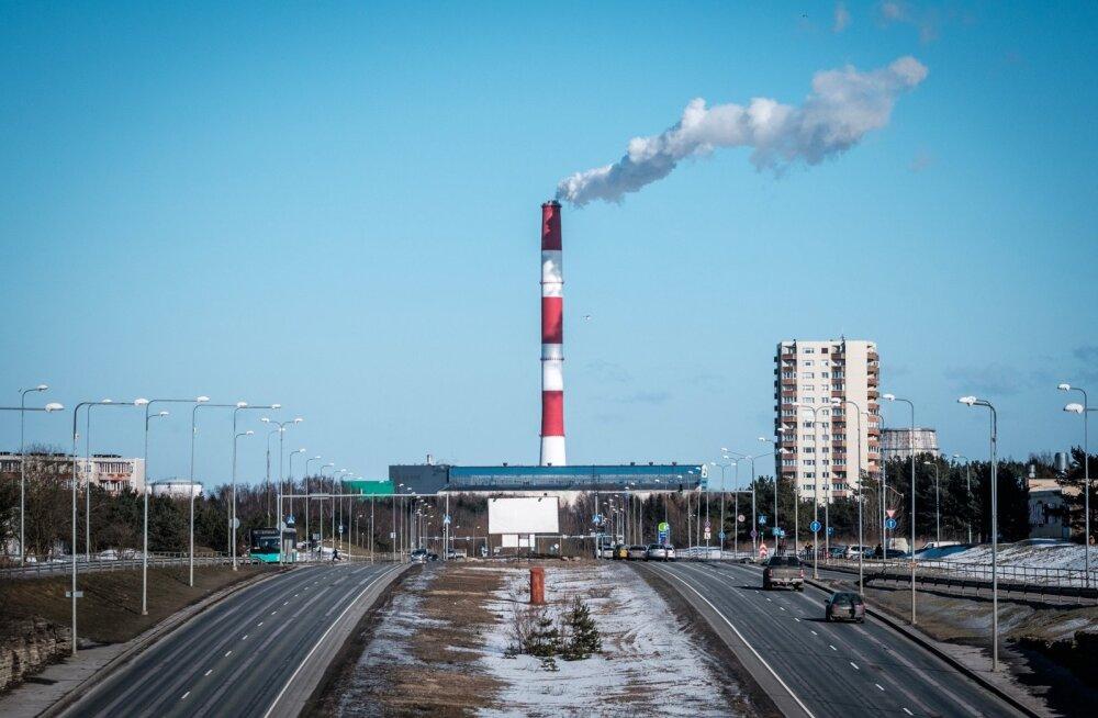 Prügi põletamine Iru elektrijaamas