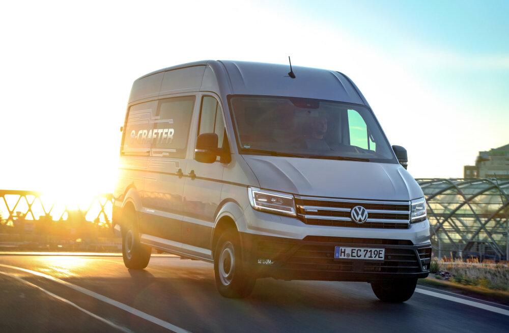 Volkswagen tutvustas oma esimest suurt elektrikaubikut