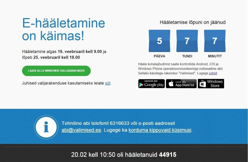FAKTIKONTROLL | Kas Eesti inimesed tahavad hääletada paberil, nagu väitis peaminister Jüri Ratas?
