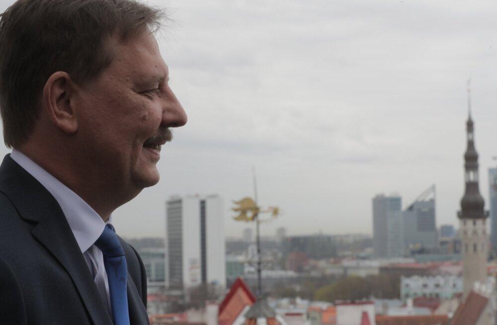 Taavi Aas on Keskerakonna linnapeakandidaat.