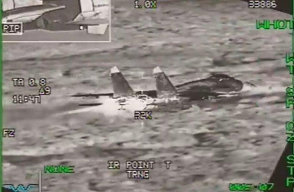 VIDEO   Belgia hävitajad saatsid Läänemere kohal lennuplaanita lennanud Vene sõjalennukeid