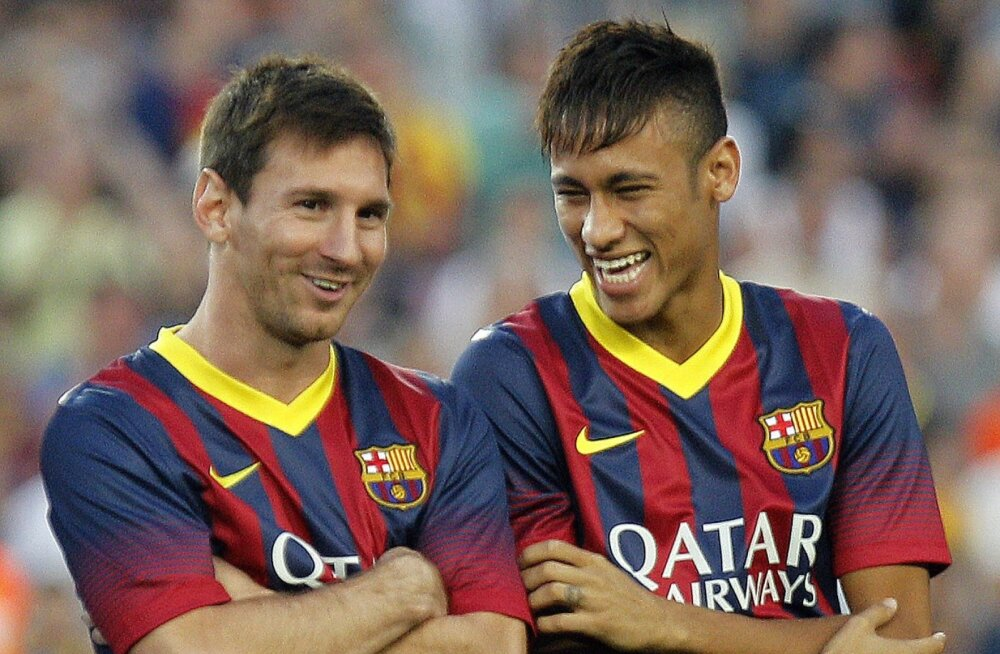 Lionel Messi ja Neymar