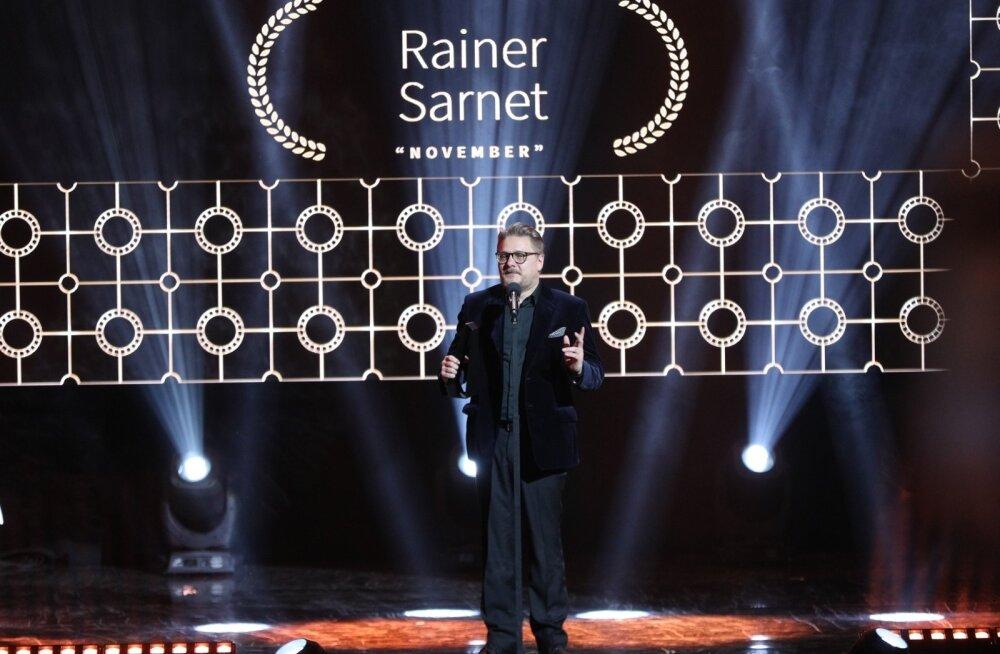 """EFTA galal triumfeeris filmide kategoorias Rainer Sarneti """"November""""."""