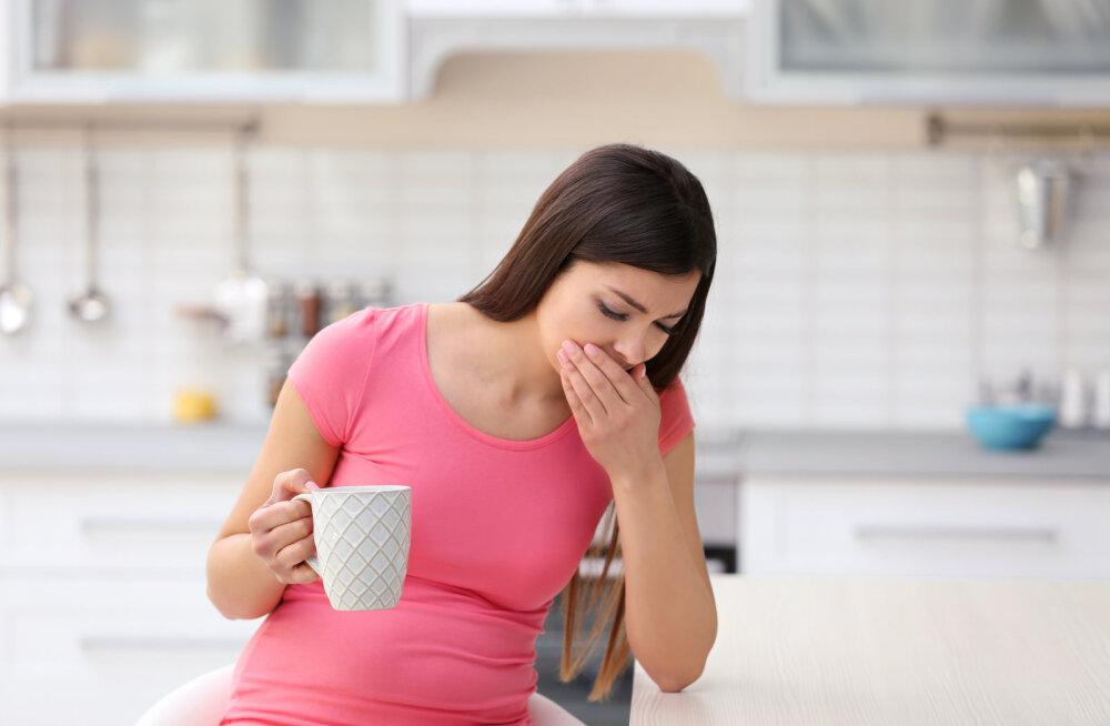 Hingeldamine, iiveldused ja alaseljavalud. Äkki oled rase?