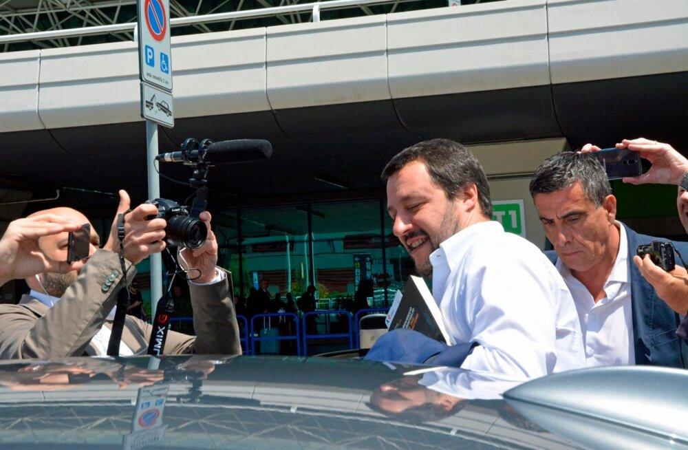 Itaalia poliitiline tulevik sõltub nüüd eelkõige Põhjaliiga juhi Matteo Salvini otsusest.