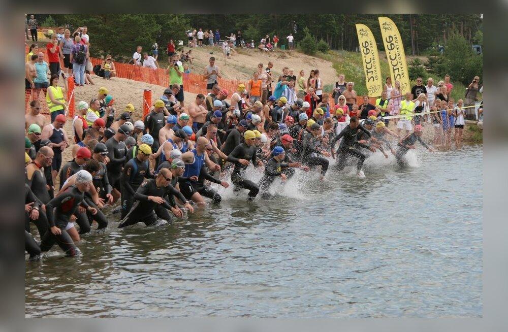 Eesti pikimal triatlonivõistlusel läbitakse 226 kilomeetrit