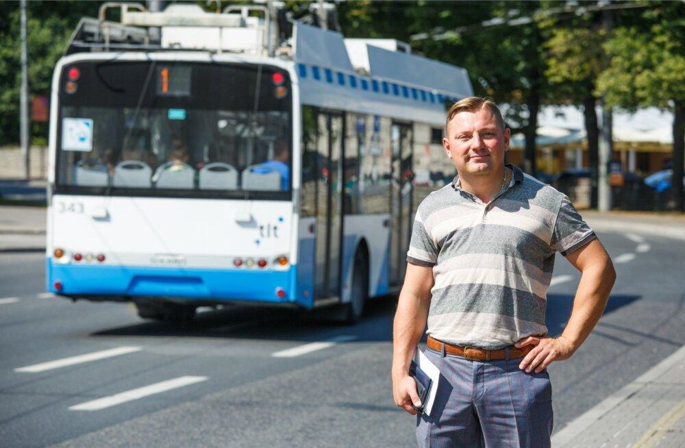Deniss Boroditš juhib järgmisest nädalast alates valdavat osa pealinna ühissõiduteenustest – 60 bussi-, nelja trolli- ja nelja trammiliini.