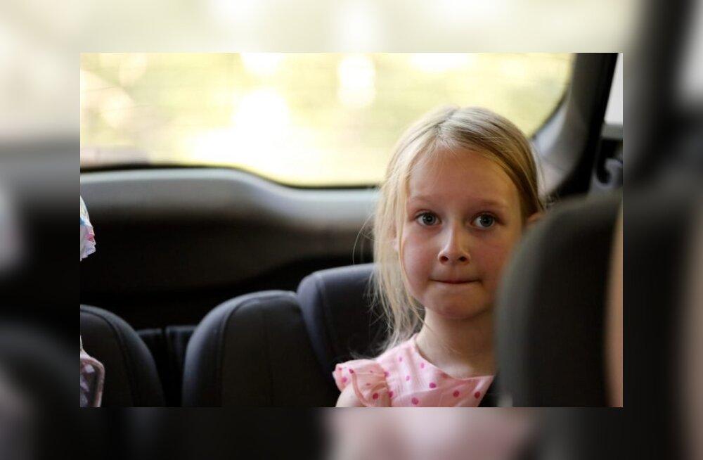 Uuring: lapsest saab samasugune autojuht nagu lapsevanemast