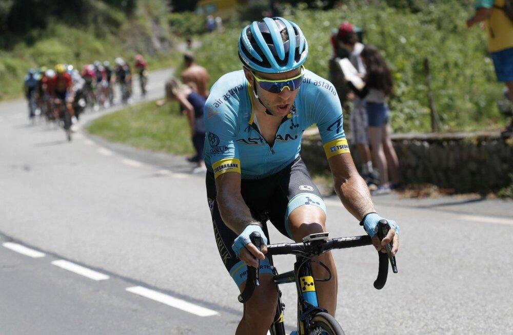 Tanel Kangert Touri 17. etapil üksi ründamas