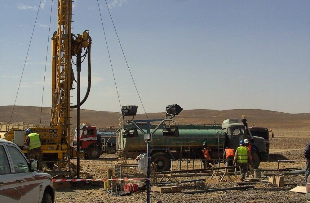 Geoloogilised uuringud Jordaanias