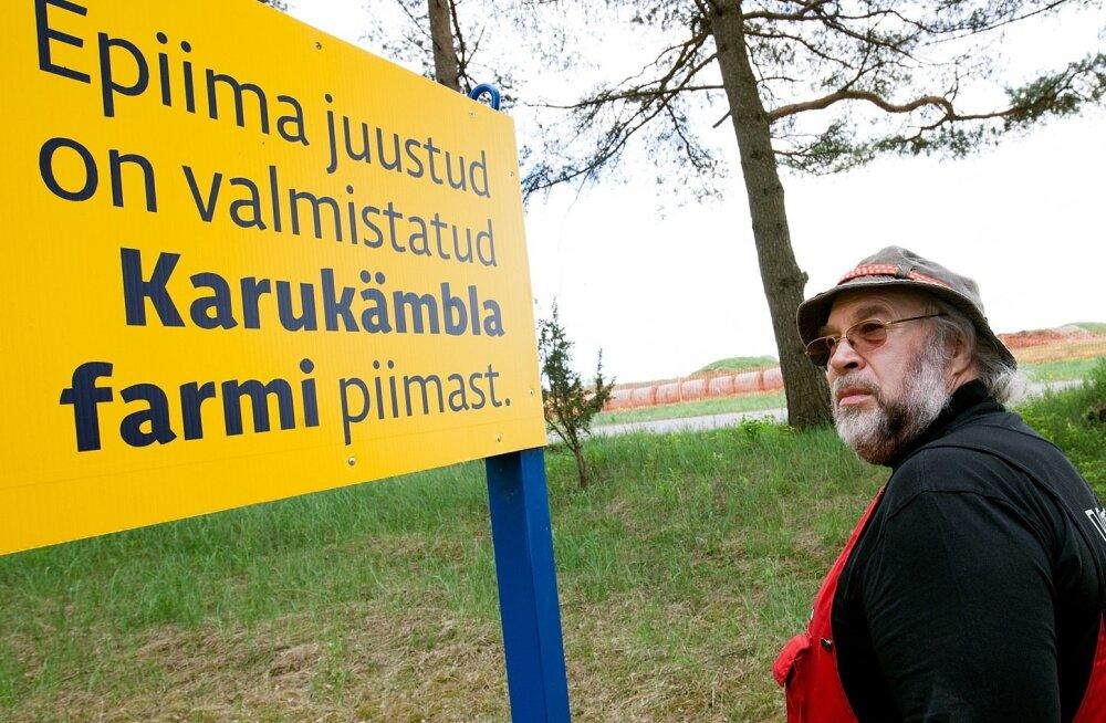 Karukämbla farm -maakari -piimatootjad ANTS AAMAN juunior ja ANTS AAMAN seenior