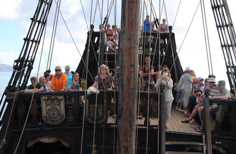 Väljasõit Santa Maria laevaga