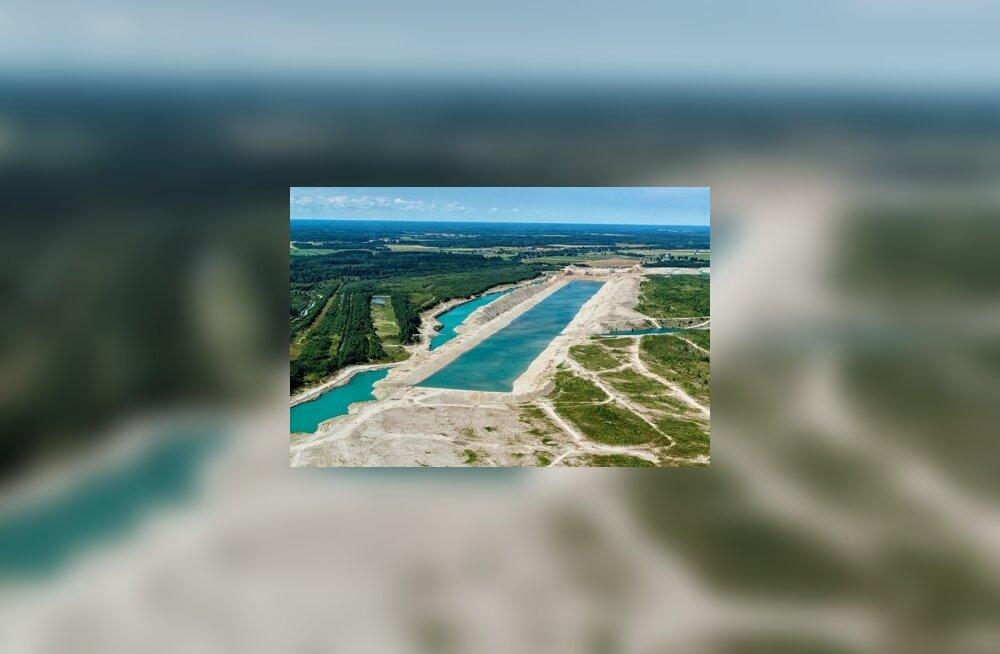 """""""Ida-Virumaa helesinised laguunid"""" ei ole loodusimed, vaid kinnised tööstusobjektid"""