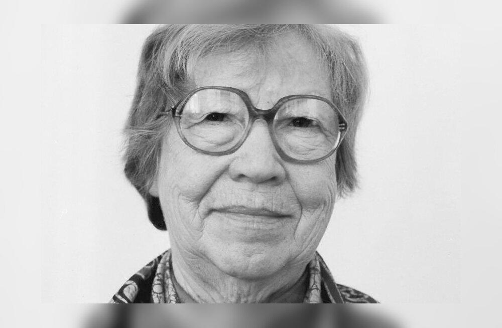 Emeriitprofessor Evi Rannap