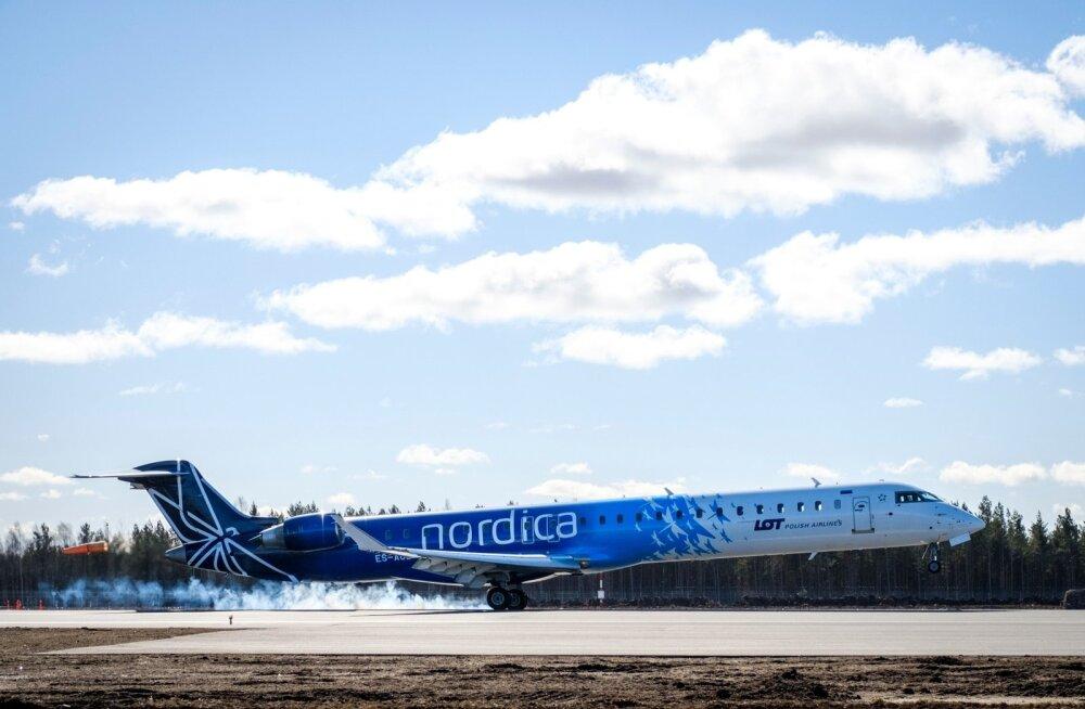 Запах сигаретного дыма и отмены рейсов: что происходило с Nordica в сентябре и октябре?