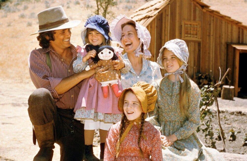 """Kirjanik Laura Ingalls Wilderi raamatu """"Väike maja preerias"""" järgi on vändatud ka film."""