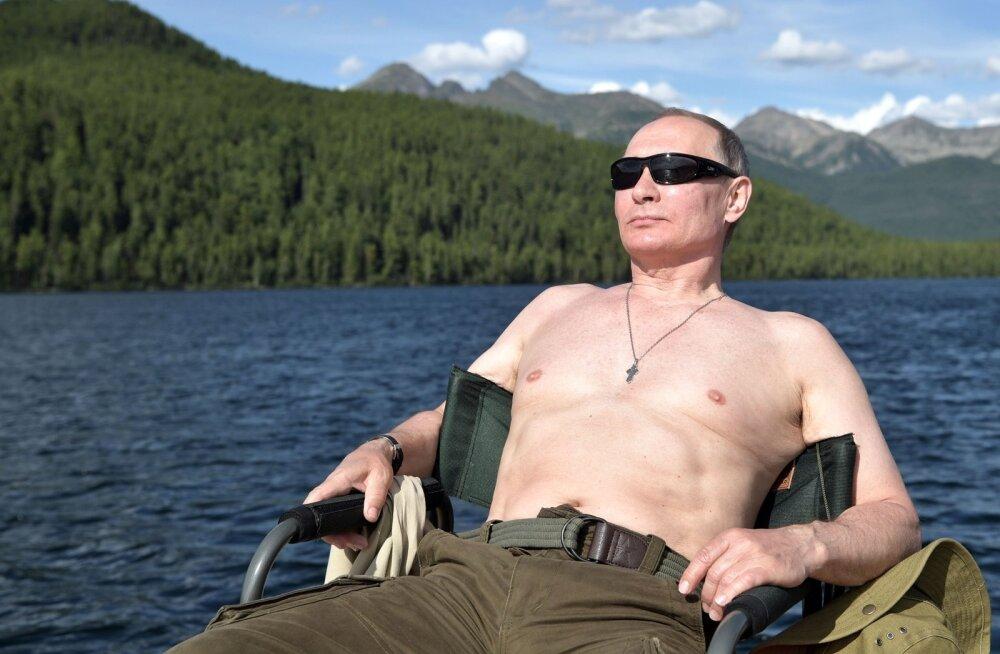 VIDEO | Kreml avaldas pika ülevaate Putini kalastus- ja matkaretkest Tõvas