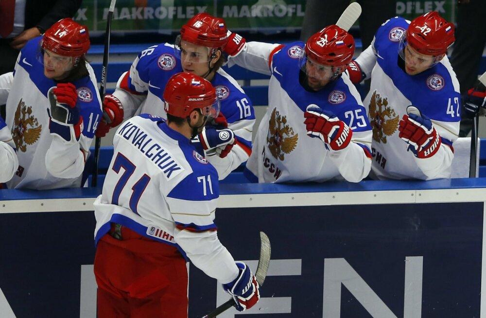 Venemaa jäähokikoondis osaleb olümpial, kui Putin lubab