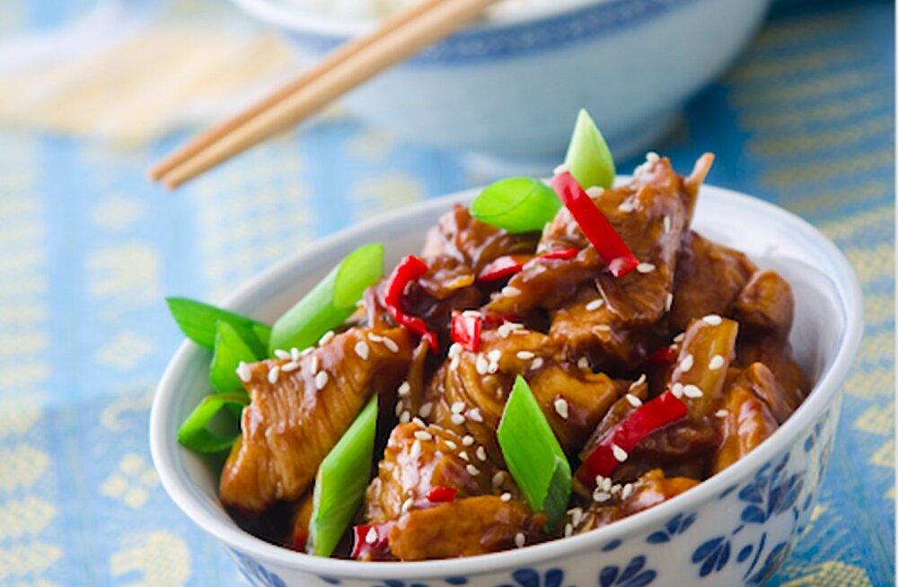 Retseptisoovitus   Vietnami kana ingveri ja rohelise sibulaga