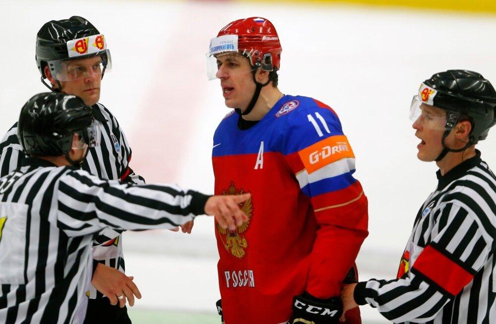 Jäähoki MM Venemaa vs Soome
