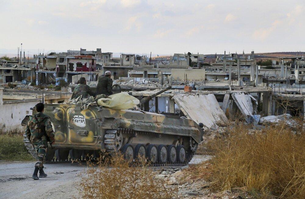 Vaid 15 padrunit relvaabi kuus ehk kuidas USA kaotas Süüria ülestõusnute usalduse
