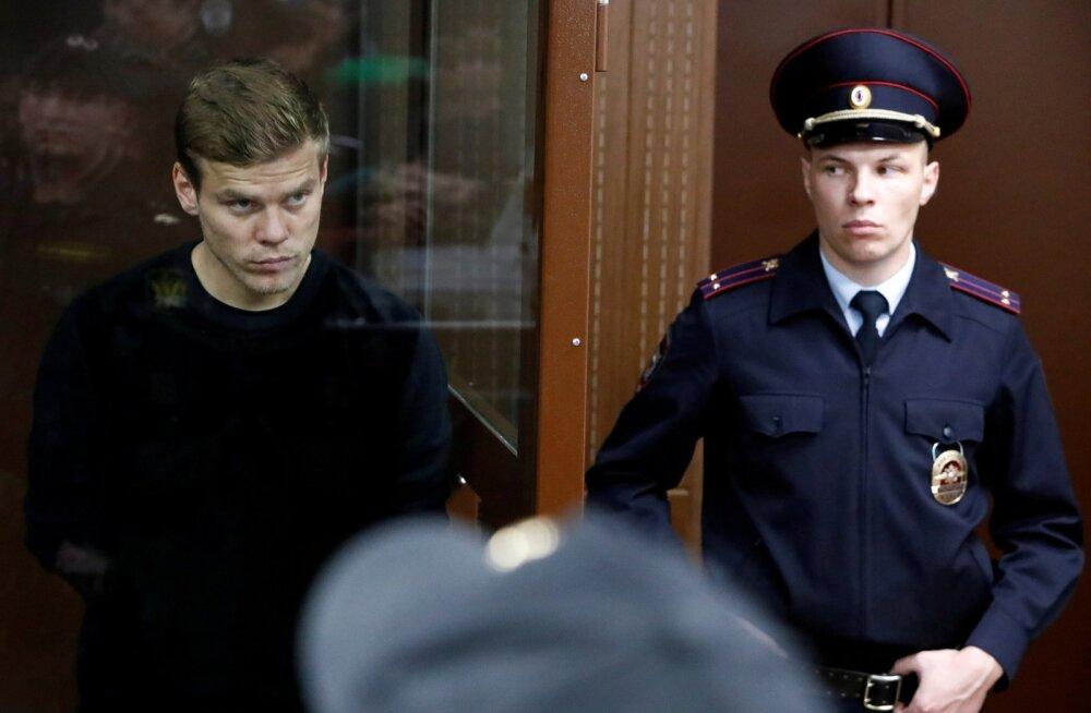 Aleksandr Kokorin kohtus