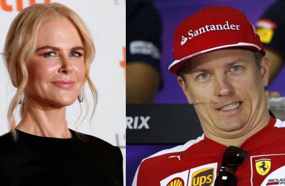Nicole Kidman ja Kimi Räikkönen