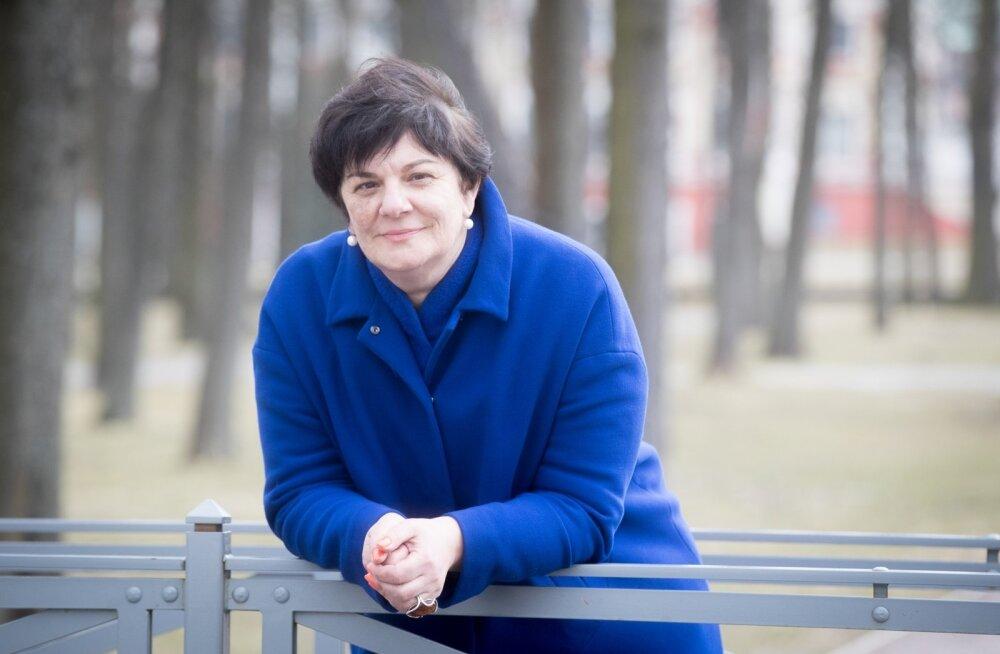 """""""Kui publik kaasa tuleb, siis sellel on heliloojale kõige suurem väärtus,"""" ütleb Galina Grigorjeva."""