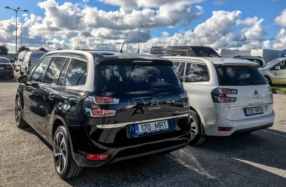 """Proovisõit: võrdluses Citroëni mahukad """"sidrunid"""" Grand C4 SpaceTourer ja Berlingo"""
