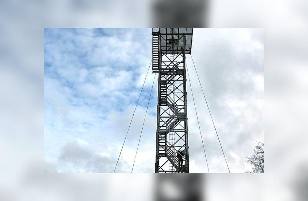 Kaameratega varustatud uus radaritorn Permiskülas