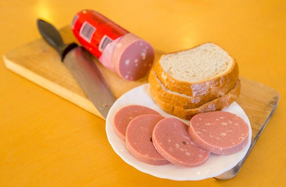 Valgamaal süüakse kõige rohkem vorsti ja Hiiumaal saia.