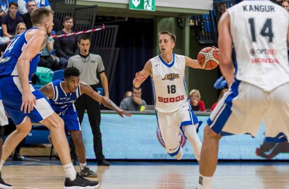 Valitsev Eesti korvpallimeister BC Kalev/Cramo jätkas eurohooaega, võõrustades FIBA Meistrite liiga teise eelringi avakohtumises Ungari klubi Fehérvári Albat. Esimene vaatus lõppes kalevlaste 78 : 71 võiduga.