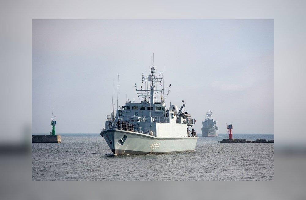 NATO miinitõrjegrupp saabus Tallinna