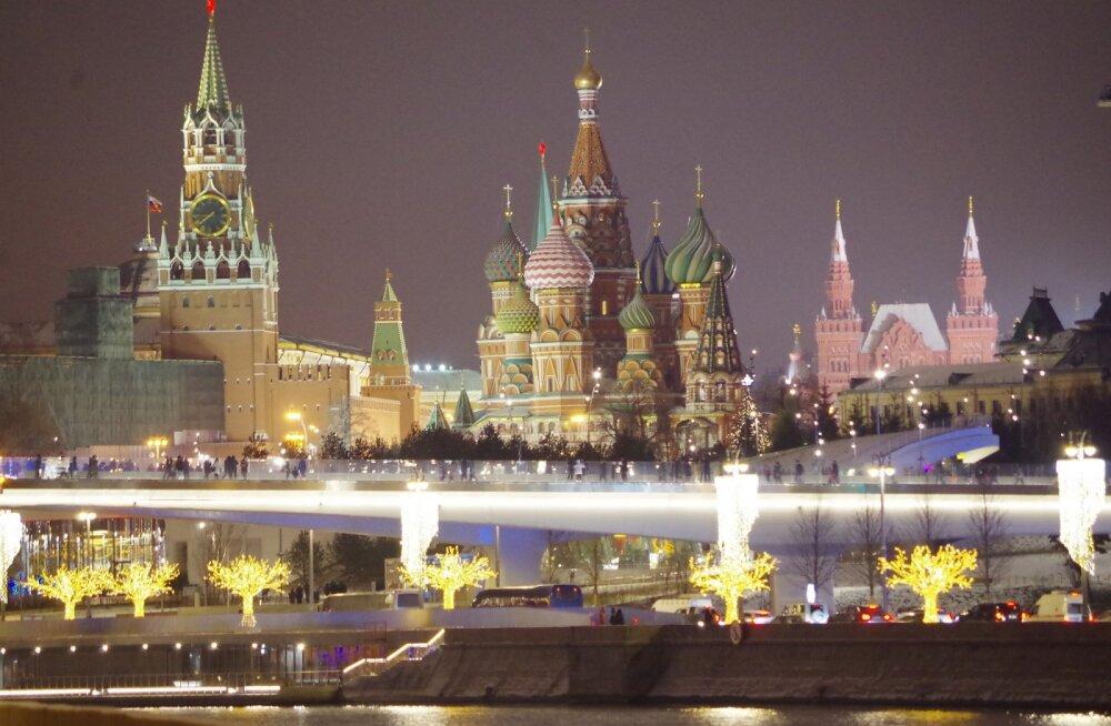 Москва декабрь 2018. Фото: Елена Цыганова