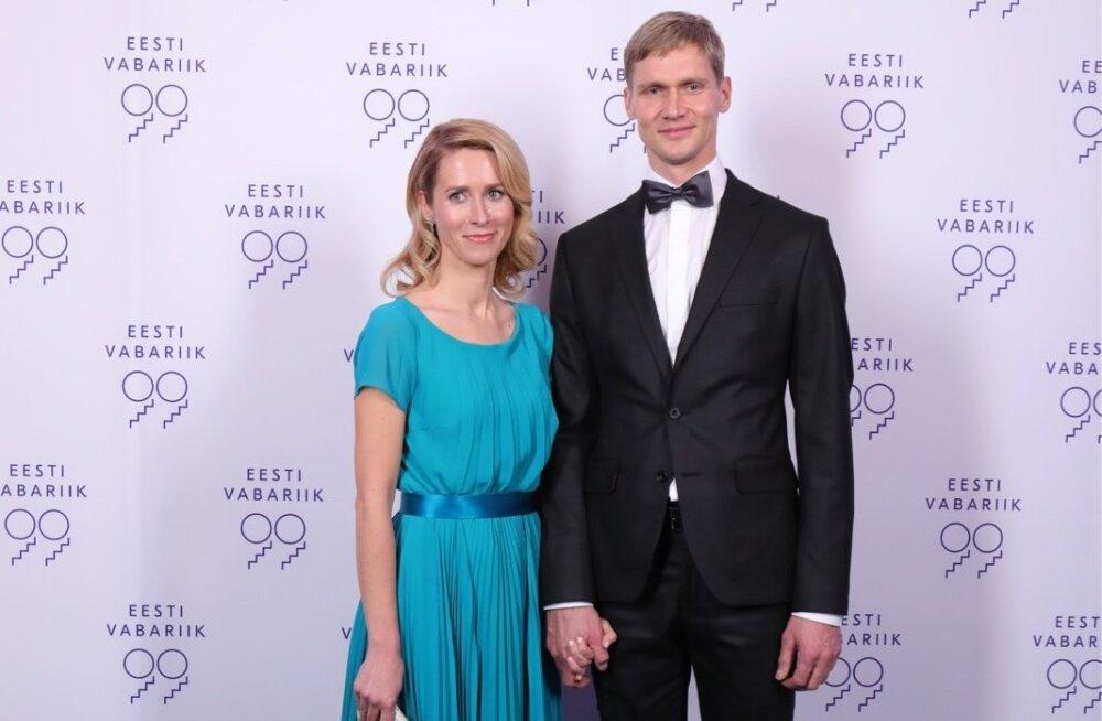 Euroopa Parlamendi liige Kaja Kallas ja Arvo Hallik